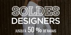 Soldes Designers - Jusqu'à 50% de rabais