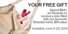 Shiseido Gift with Purchase