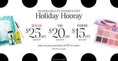Sephora Beauty Insider Event: Holiday Hooray