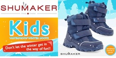 WATERPROOF KIDS BOOTS,  STARTING AT $49.99