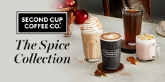 Pumpkin Spice at the Second Cup!!!
