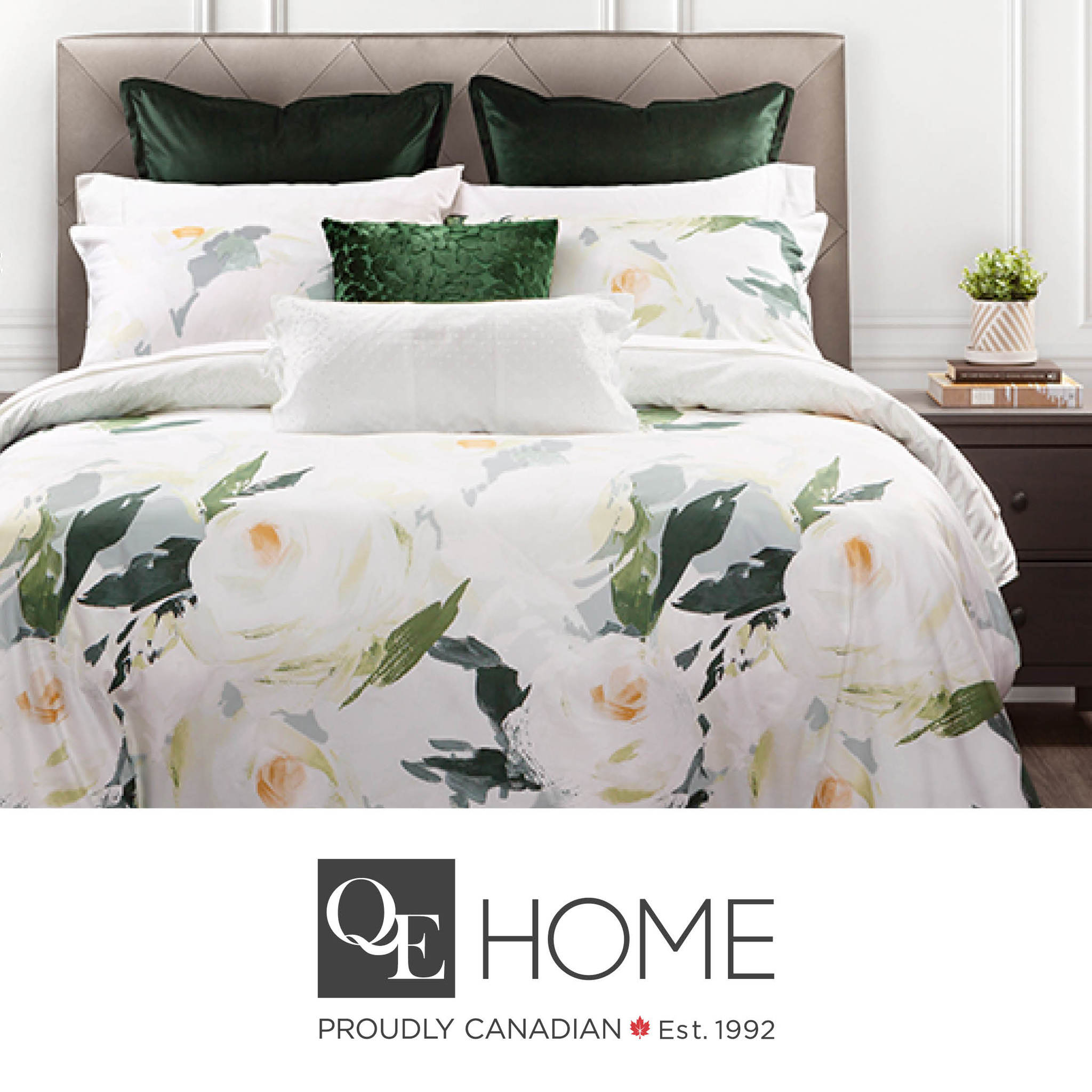 Fall into a bed of rose with our new Rosanna Bedding Collection!