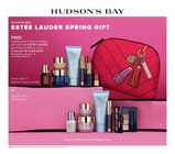 Exclusively at Hudson's Bay the ESTÉE LAUDER SPRING GIFT from Wednesday, February 19 to Sunday, March 8.