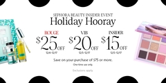 SEPHORA Beauty INSIDER - Holiday Hooray!