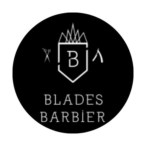 Blades barber shop Logo